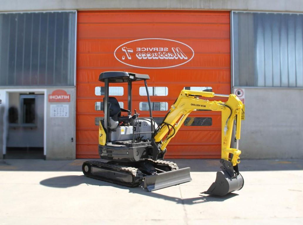 Мини экскаватор <b>New-Holland</b> e20.2sr